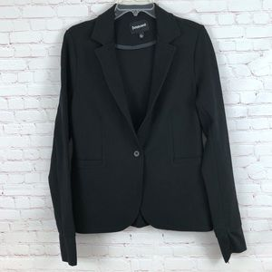 Betabrand Active Black Stretchy Blazer Ponte L